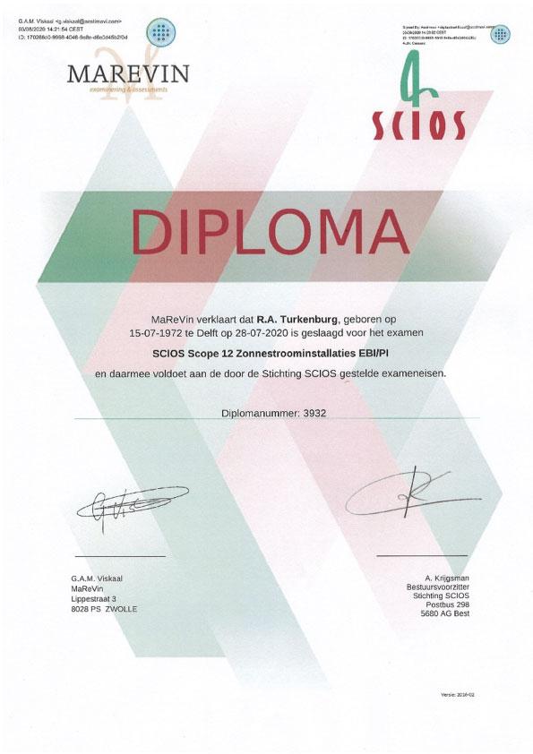 Scios Scope 12 Diploma - Kardol Inspecties